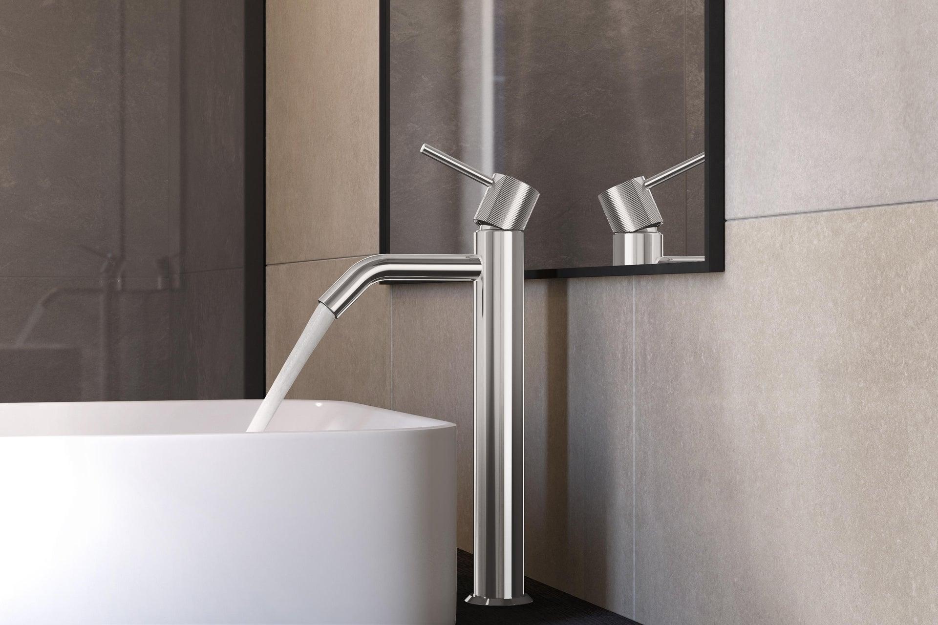 Rubinetto per lavabo Easy cromato SENSEA - 3