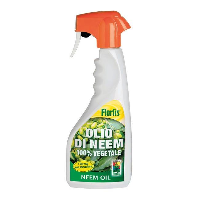 Insetticida fungicida FLORTIS olio di neem RTU 500 ml - 1