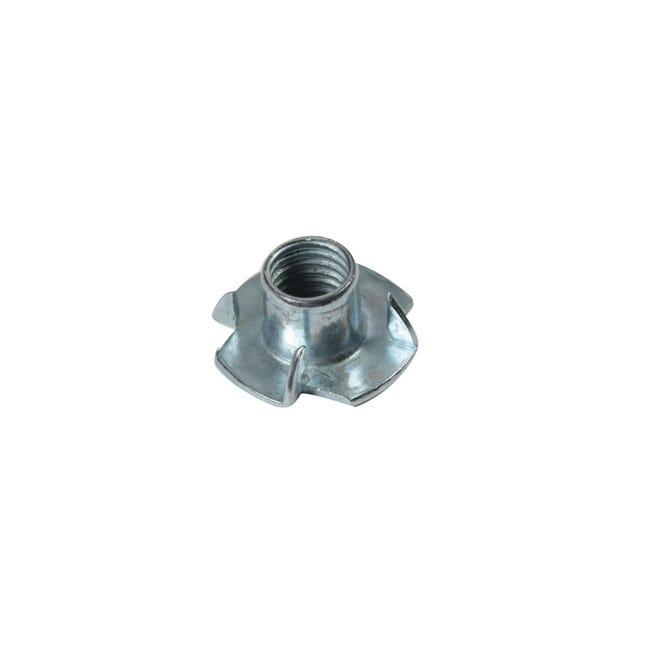 Fondello in ferro zincato L 10 x Sp 1 x H 16.5 mm 12 pezzi , grigio - 1