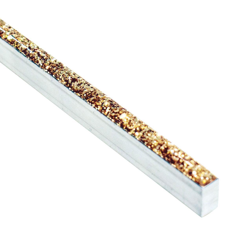 Listello Glitter L 60 x 8 cm oro - 3