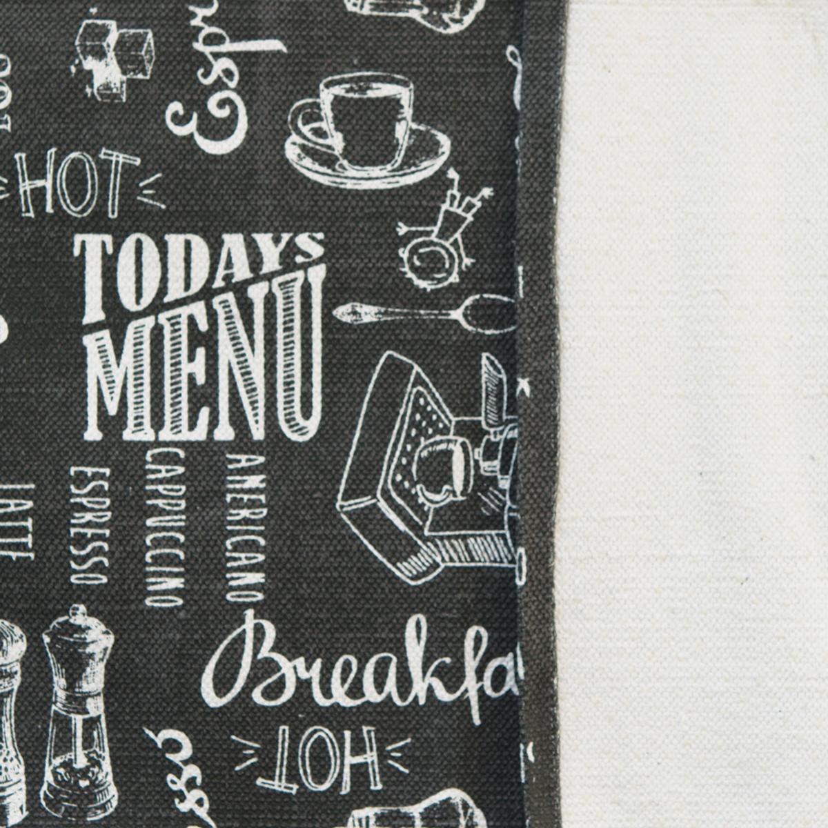 Passatoia Blackboard , grigio, 50x170 - 2