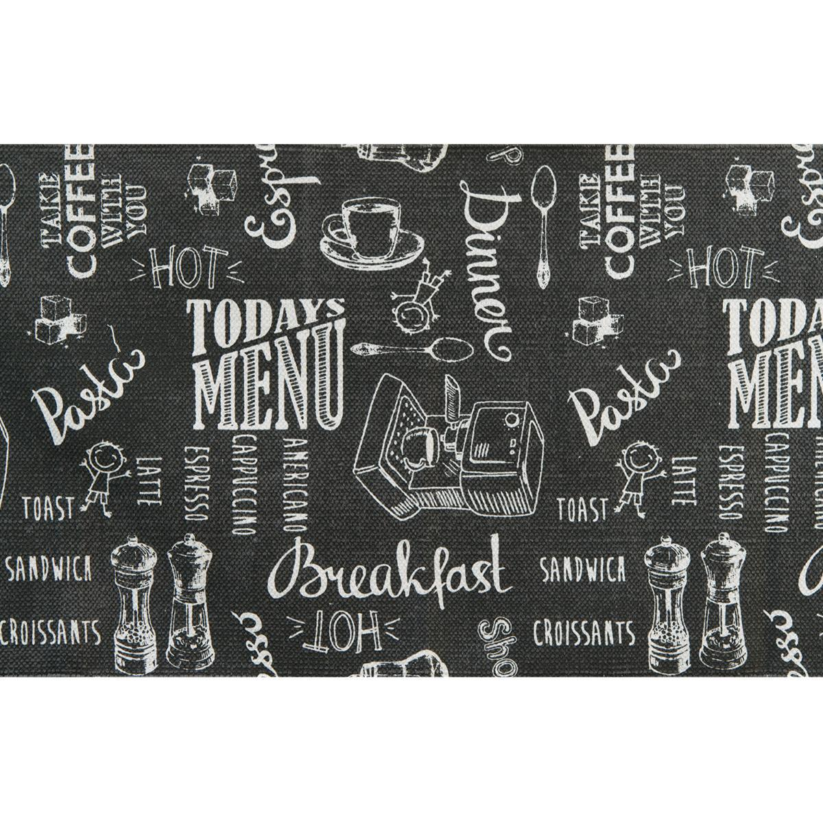 Passatoia Blackboard , grigio, 50x170 - 4