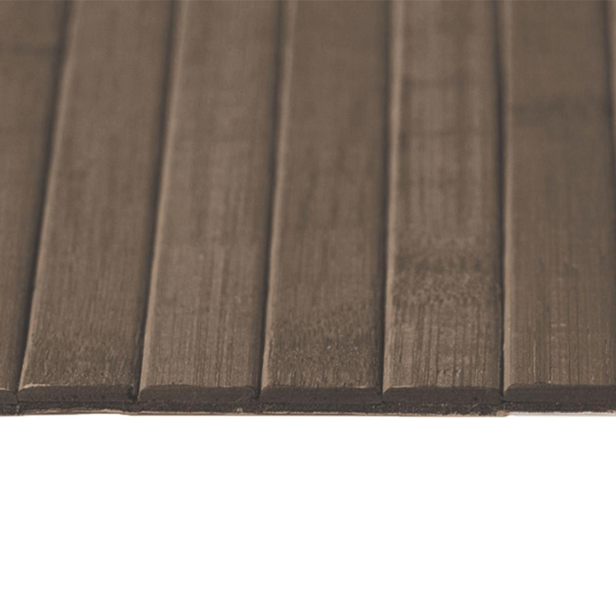 Passatoia Bamboo open , cioccolato, 50x240 - 3