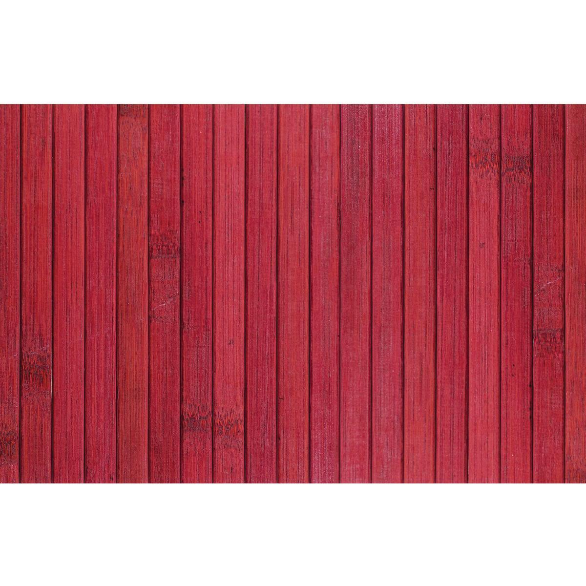 Passatoia Bamboo open , rosso, 50x280 - 4