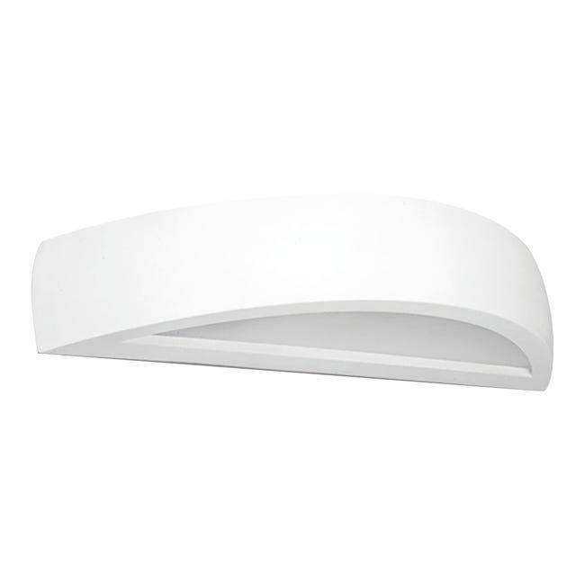 Applique design Vigo bianco, in gesso, 2 luci BRILLIANT - 1