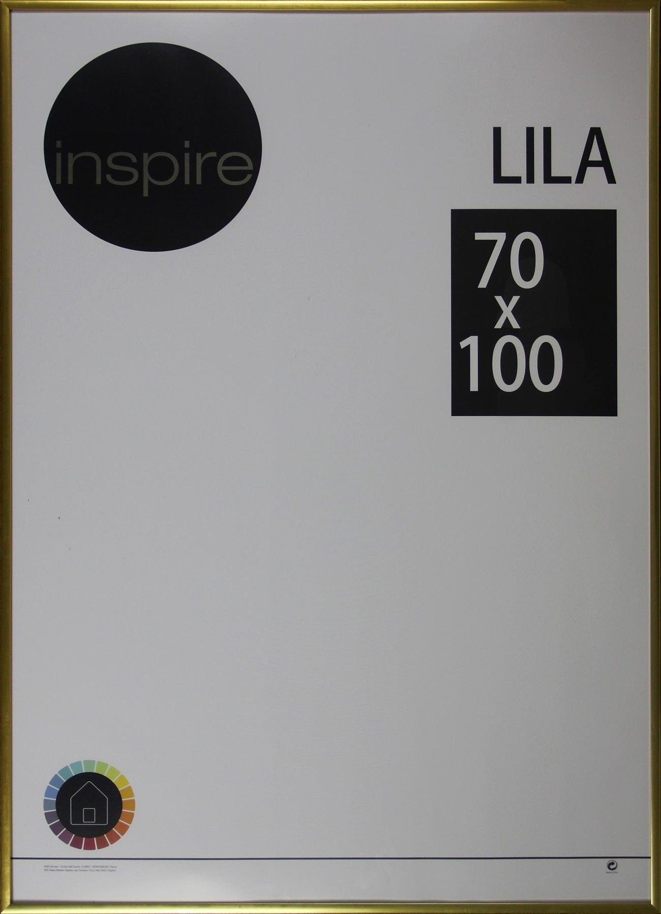 Cornice INSPIRE Lila oro per foto da 70x100 cm - 7