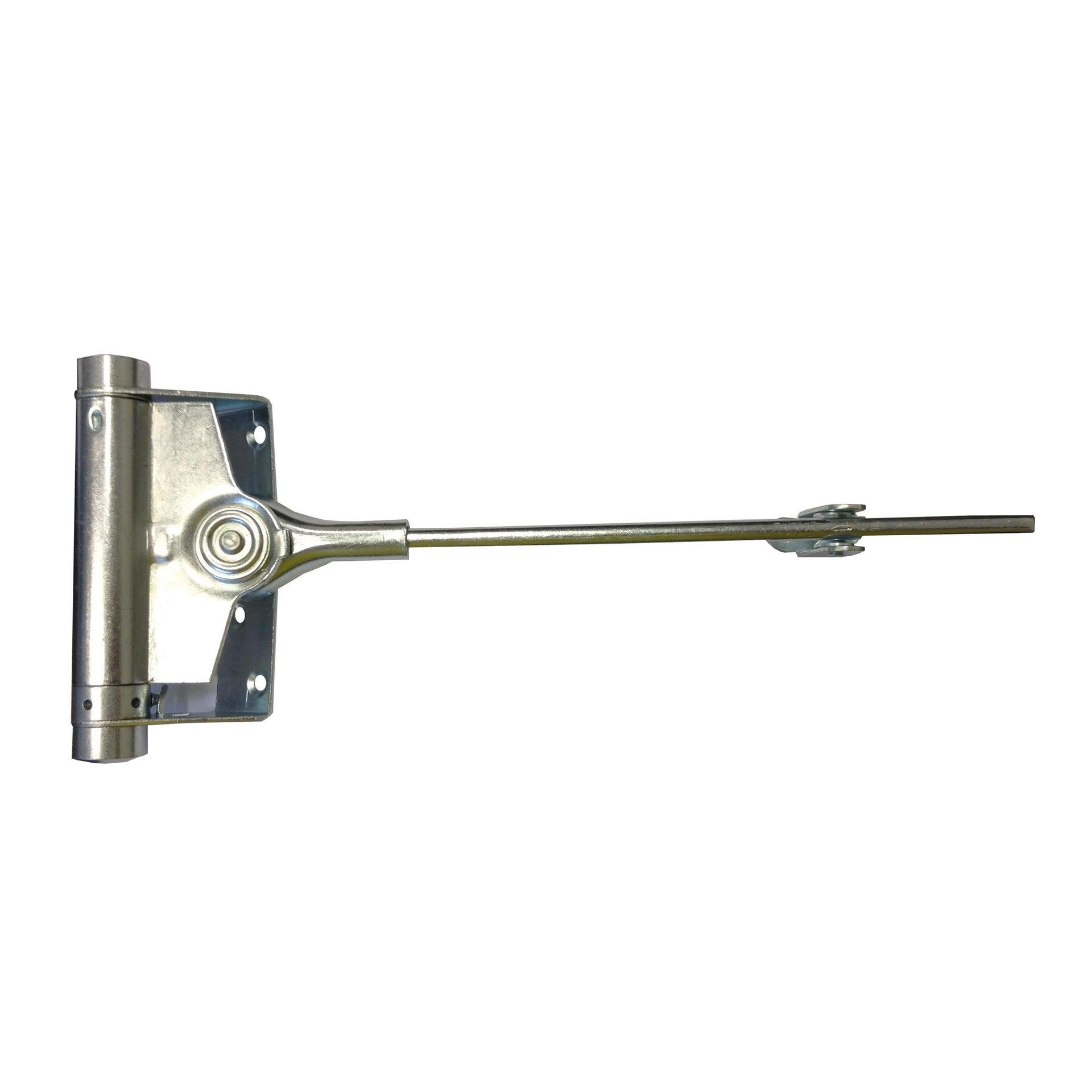 Chiudiporta a molla colore grigio / argento apertura a destra portata 25 kg