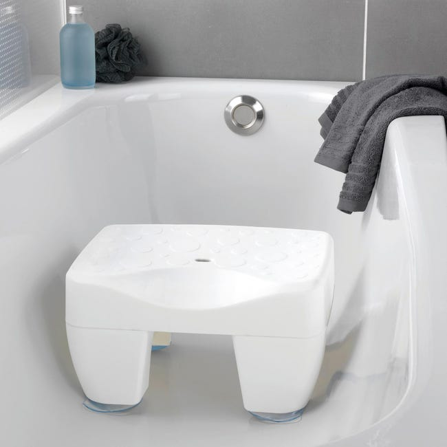 Sedile Per Vasca Secura In 100 Plastica Bianco Wenko Leroy Merlin