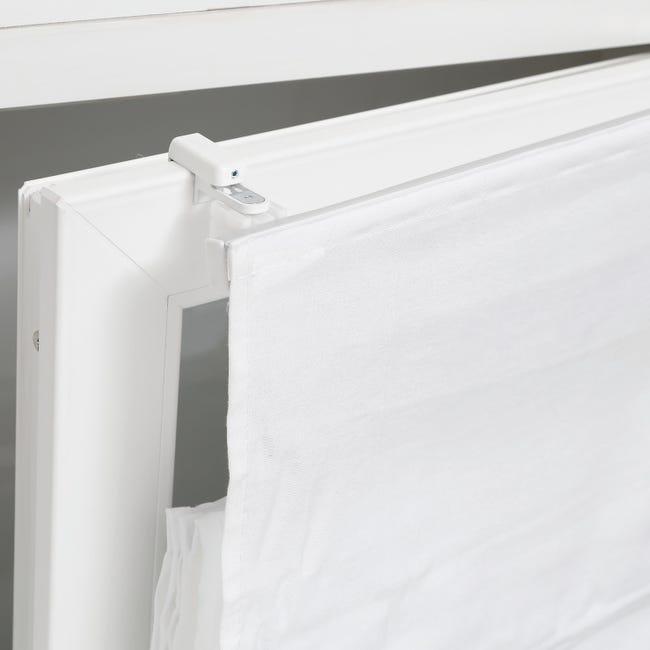 Supporto senza fori bianco in alluminio - 1