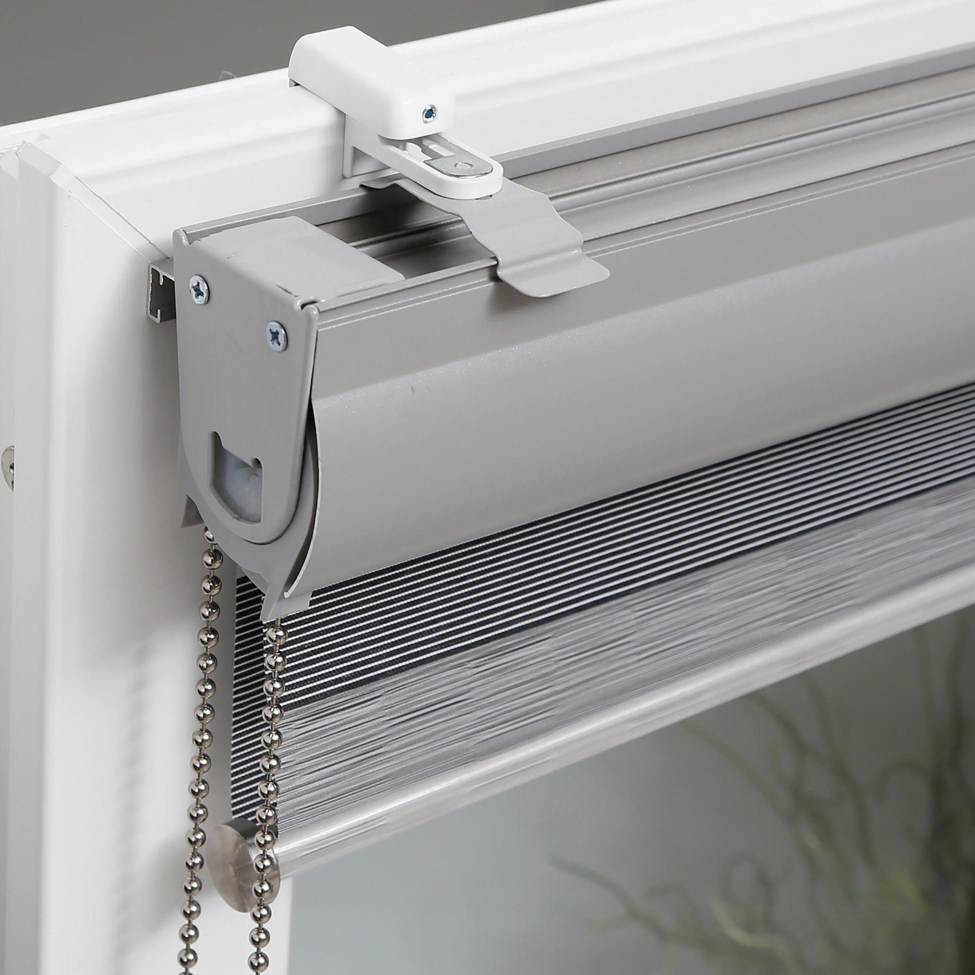 Supporto senza fori bianco in alluminio - 2