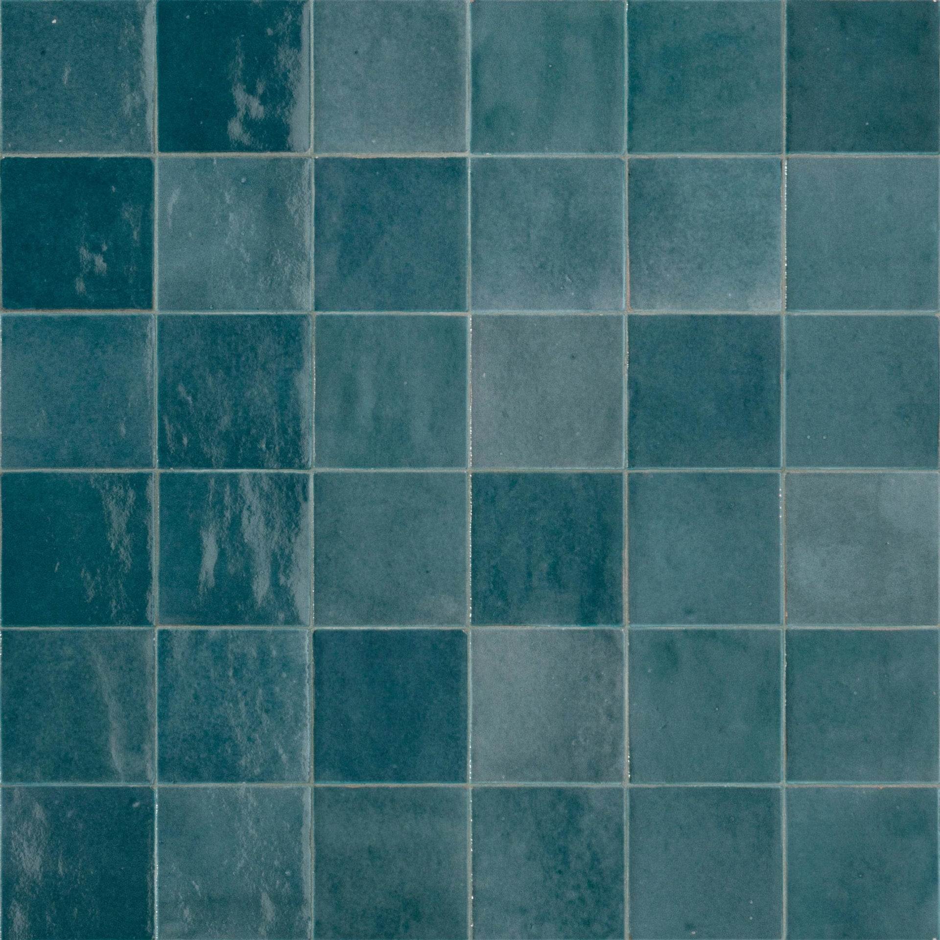 Piastrella per rivestimenti Zelli 10 x 10 cm sp. 10 mm blu - 2