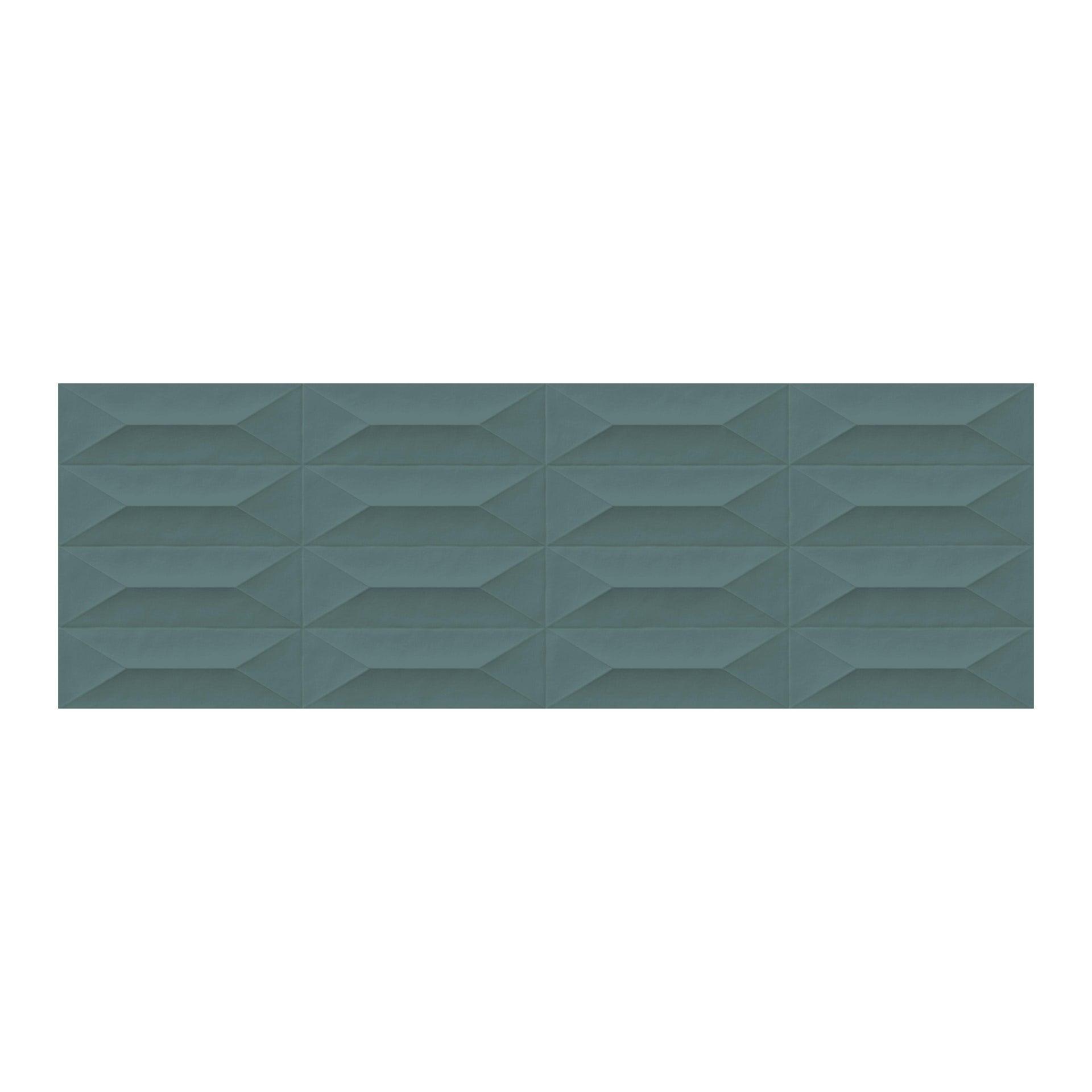 Piastrella per rivestimenti Interni 30 x 90 cm sp. 10 mm verde - 3