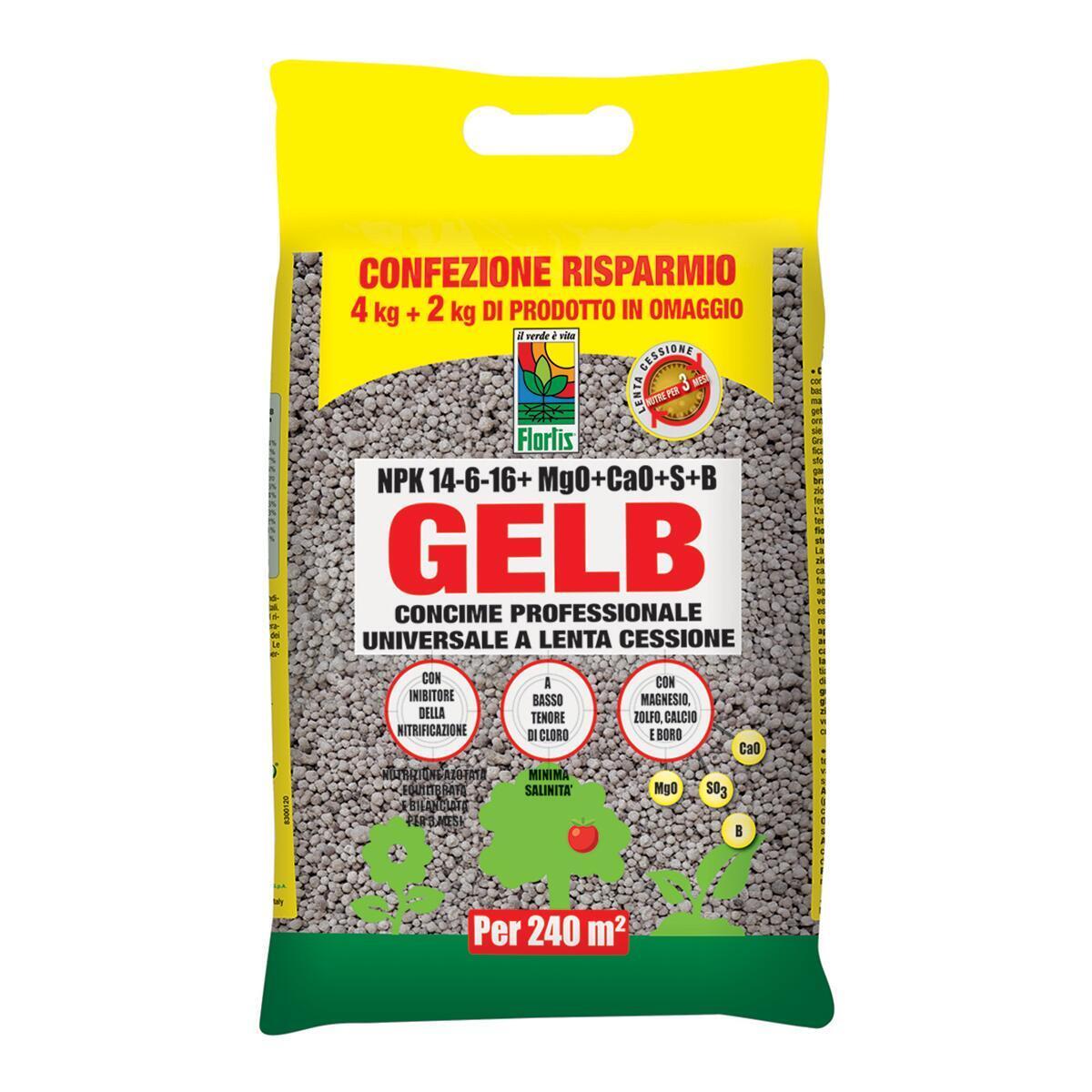 Concime granulare Gelb universale 6 kg