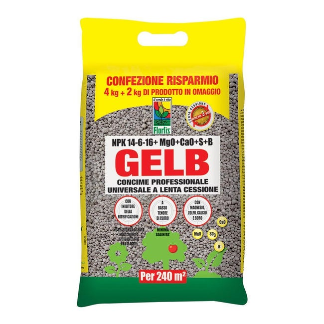 Concime granulare Gelb universale 6 kg - 1