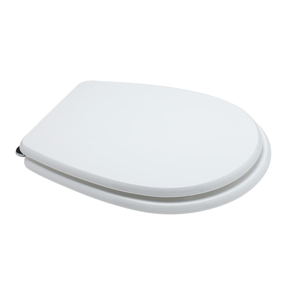 Copriwater ovale Universale Liuto mdf bianco - 4