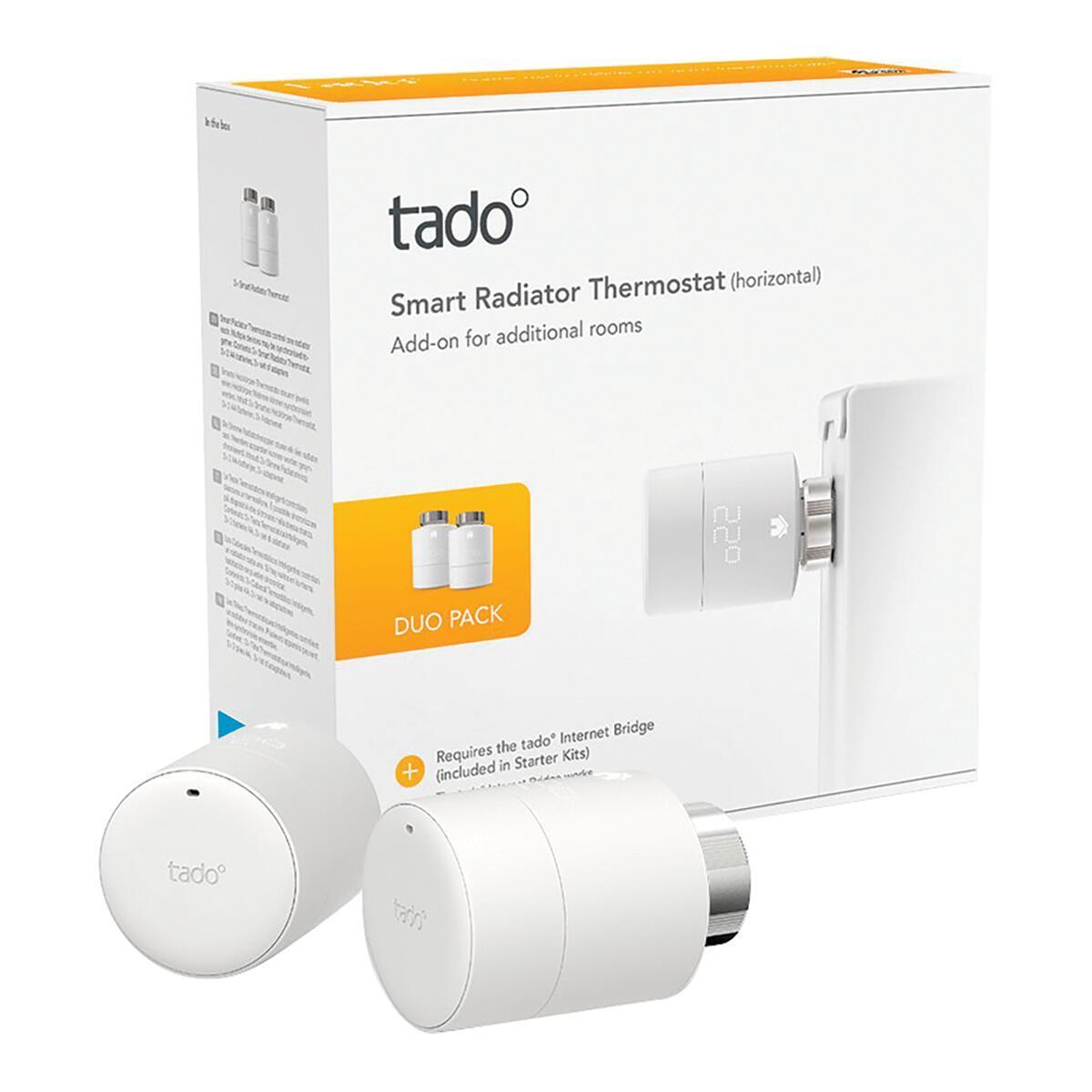 Kit termostatico TADO Ø 2