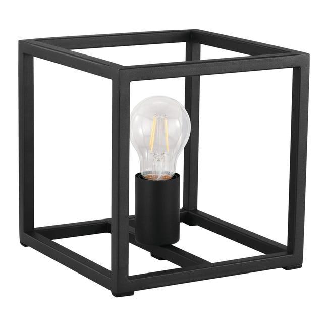 Lampada da tavolo Industriale Eldrick nero , in metallo, EGLO - 1