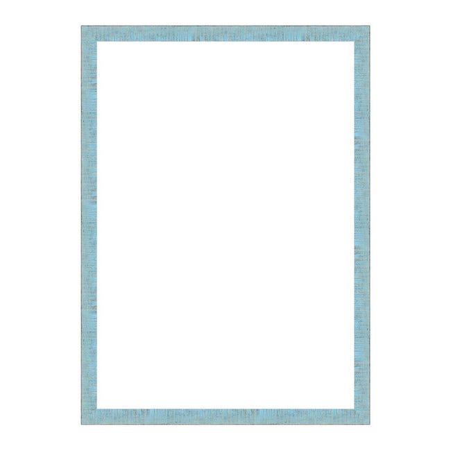 Cornice Medina azzurro<multisep/>oro per foto da 70x100 cm - 1