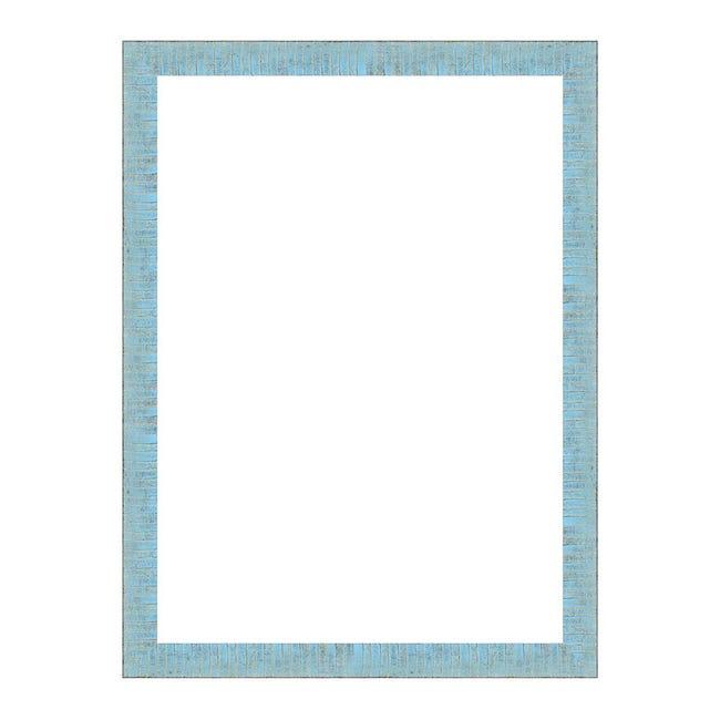 Cornice Medina azzurro<multisep/>oro per foto da 50x70 cm - 1
