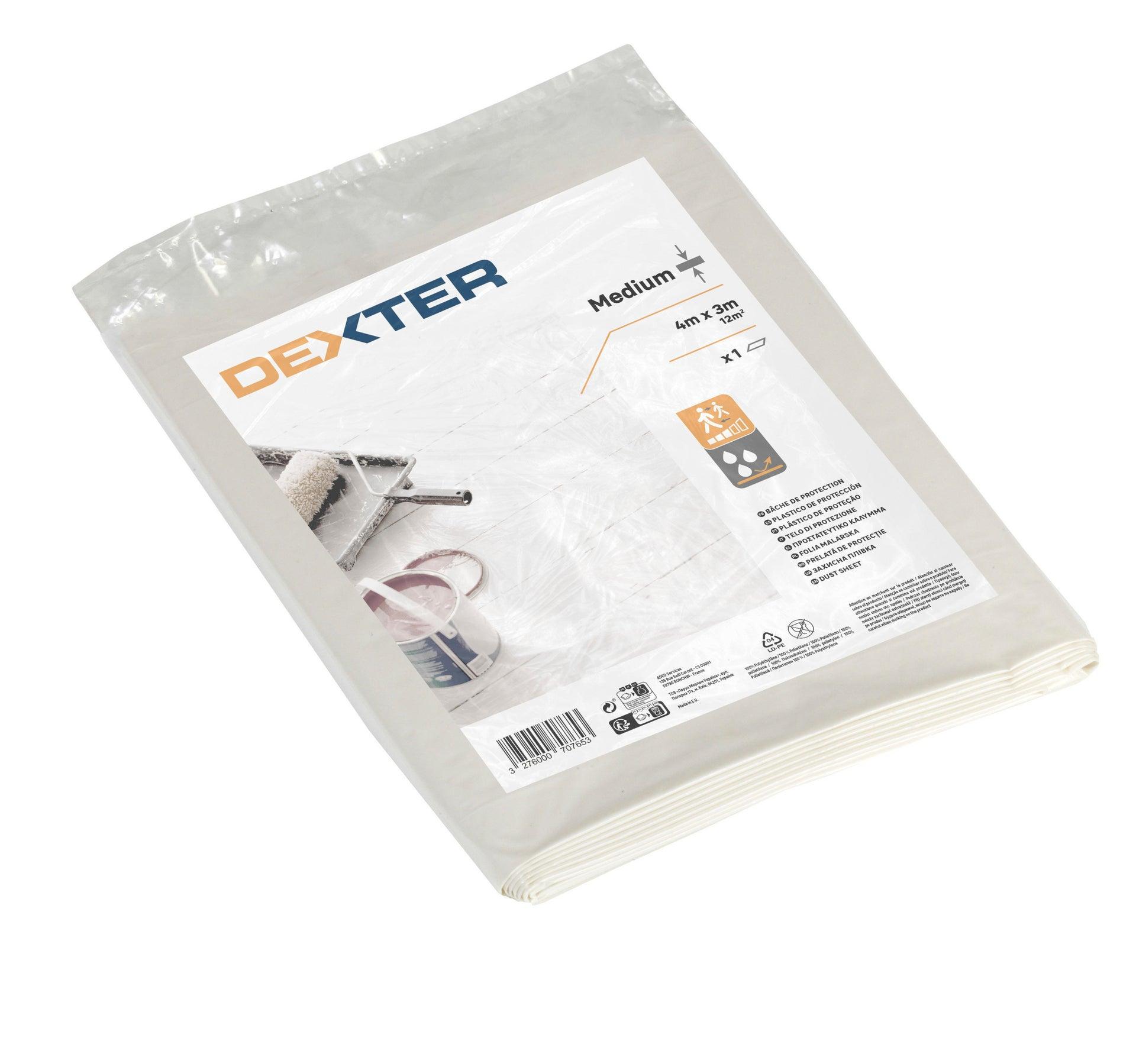 Telo di protezione DEXTER 4 X 3 m traslucido - 2