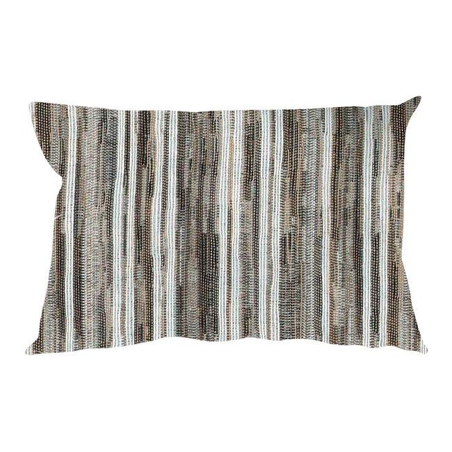 Fodera per cuscino RAYA marrone 50x30 cm - 1