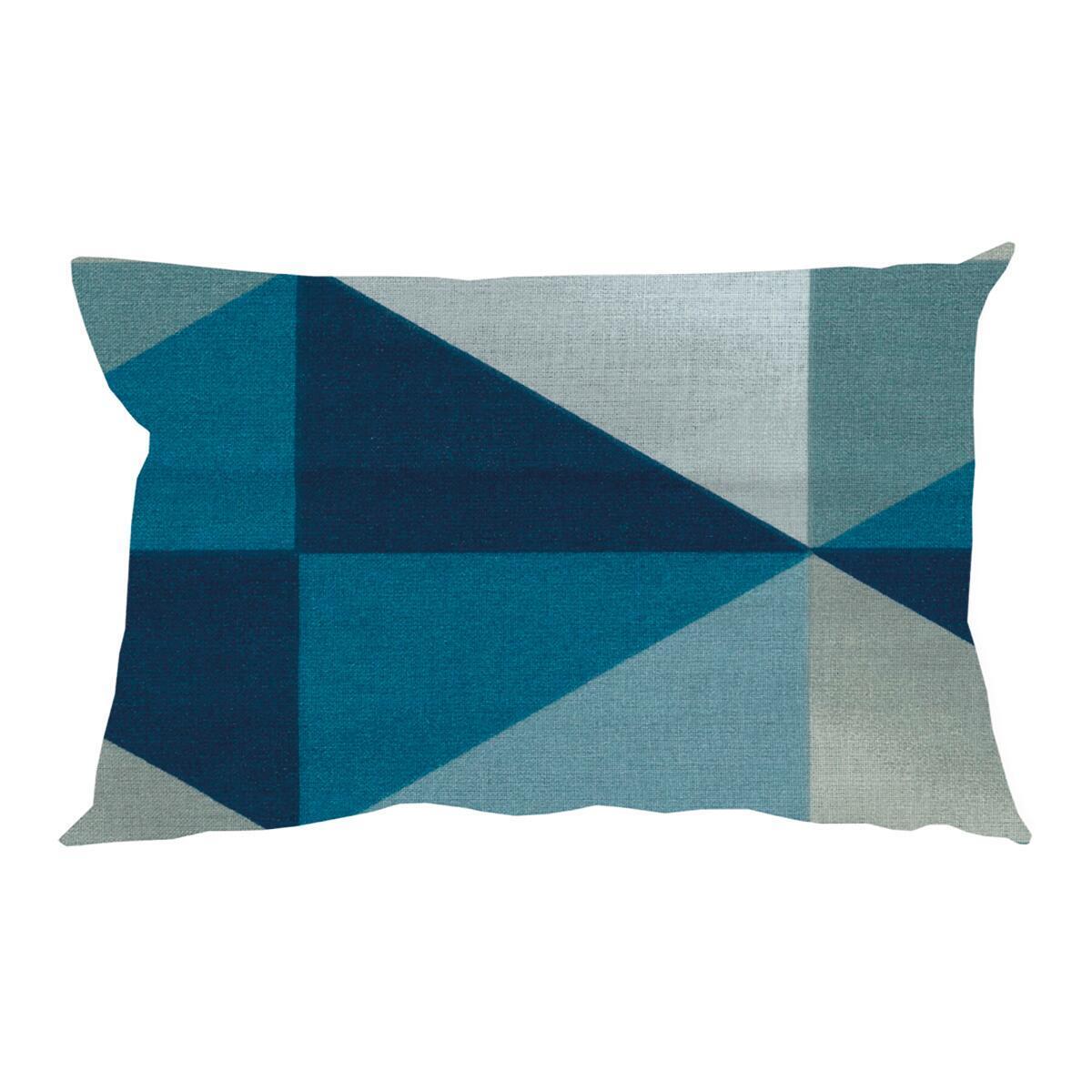 Fodera per cuscino GABRY azzurro 50x30 cm