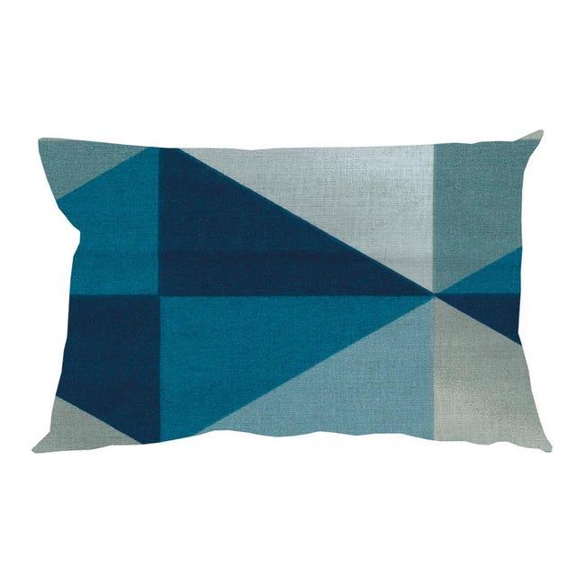 Fodera per cuscino GABRY azzurro 50x30 cm - 1