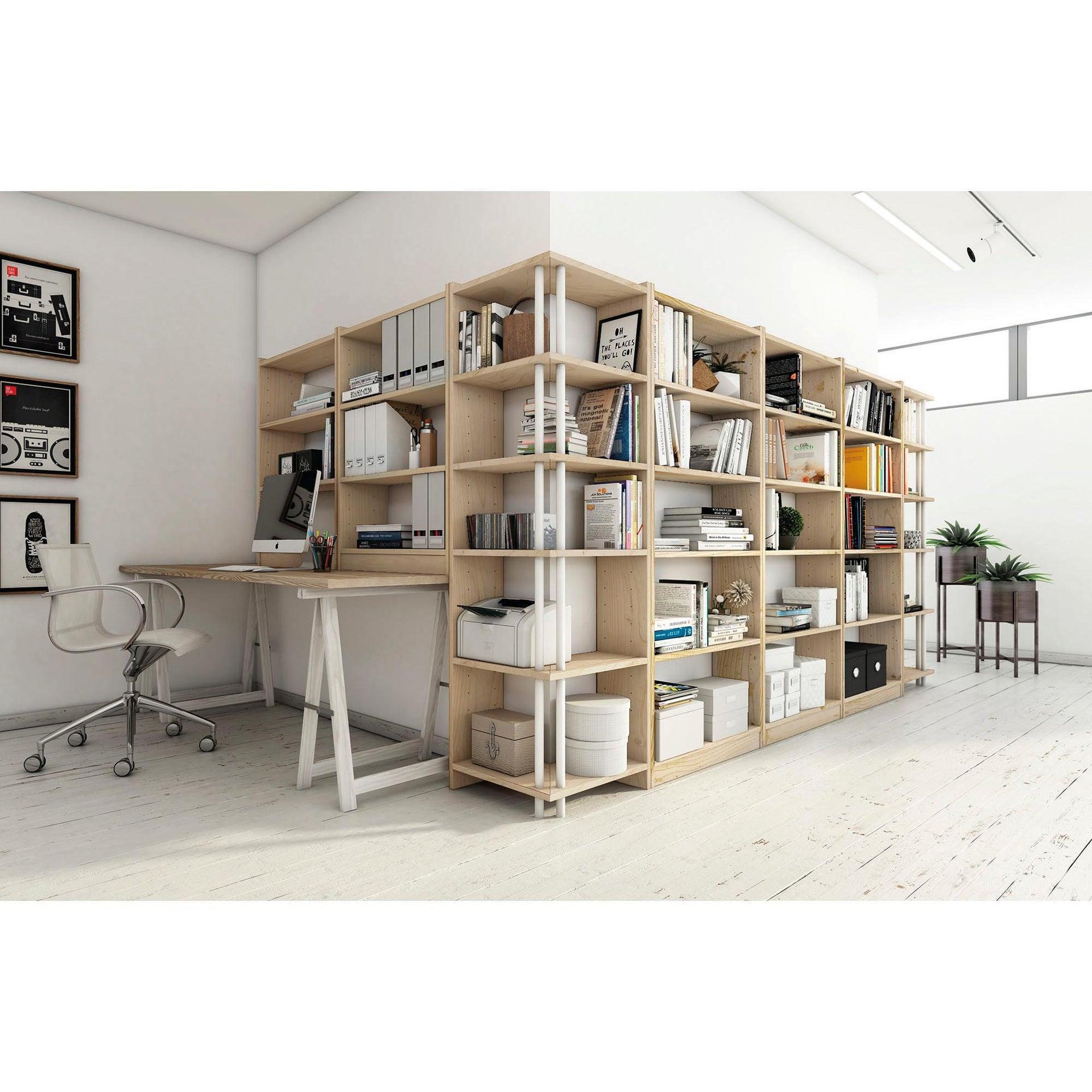 Libreria Gala L 80 x P 25 x H 184.7 cm - 22