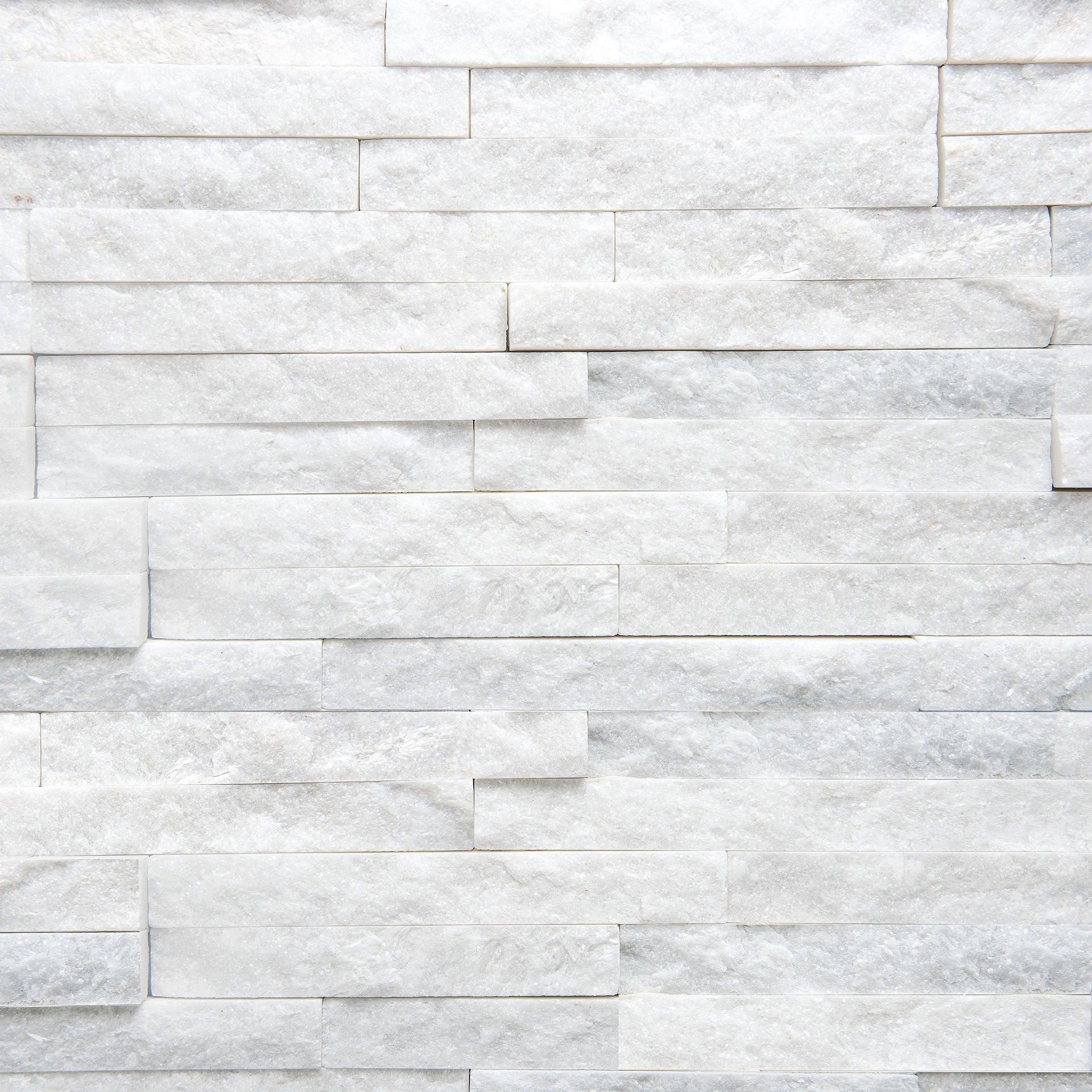 Rivestimento strutturato in pietra naturale Jimara L 36 x L 10 cm, Sp 12 mm interno / esterno - 6
