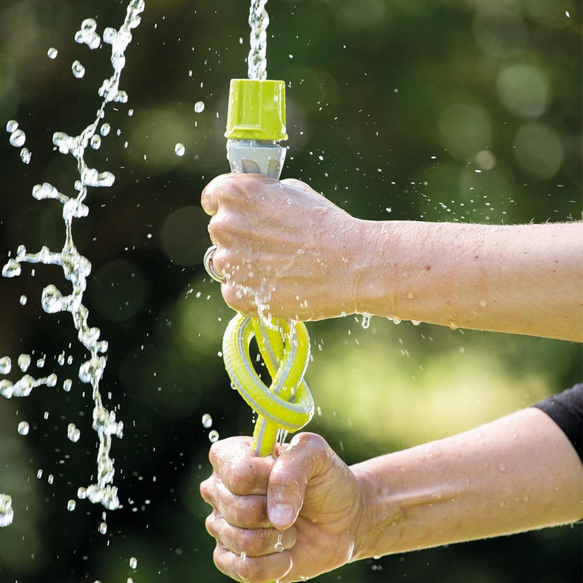 Tubo di irrigazione antisvergolamento e antitorsione Armadillo Kit 30 MT 5/8
