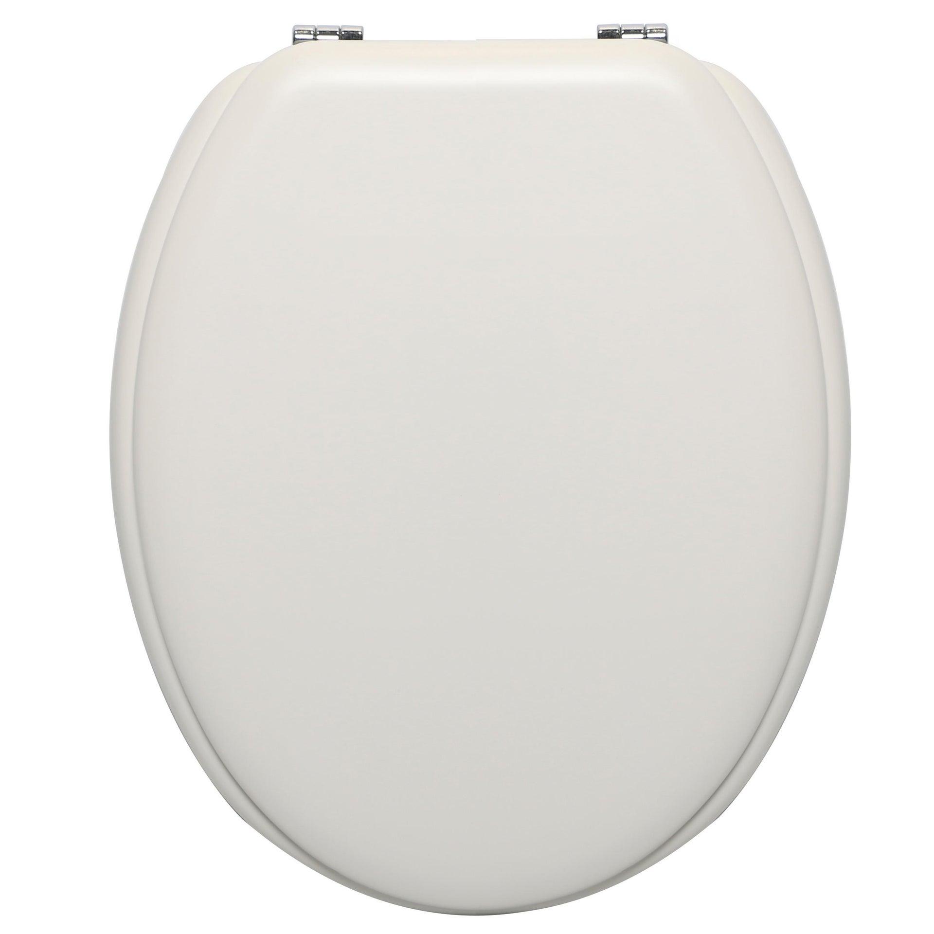 Copriwater ovale Universale Pop SENSEA mdf bianco - 1