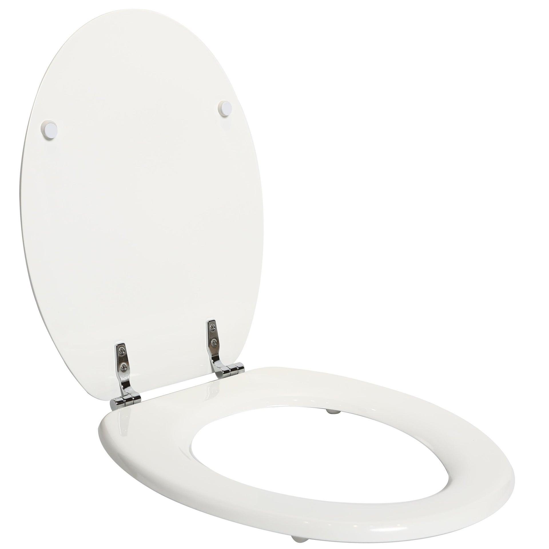 Copriwater ovale Universale Pop SENSEA mdf bianco - 3