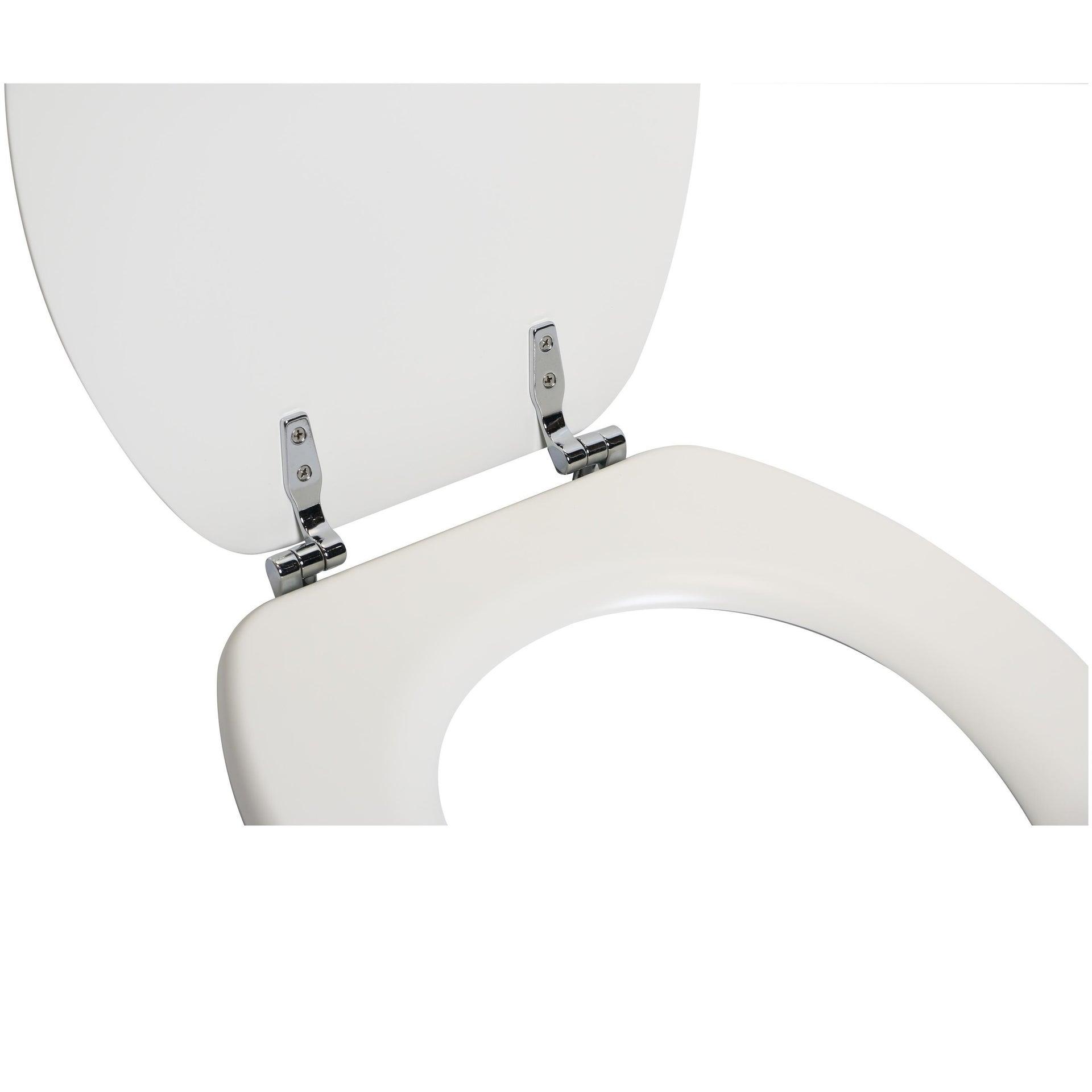 Copriwater ovale Universale Pop SENSEA mdf bianco - 6