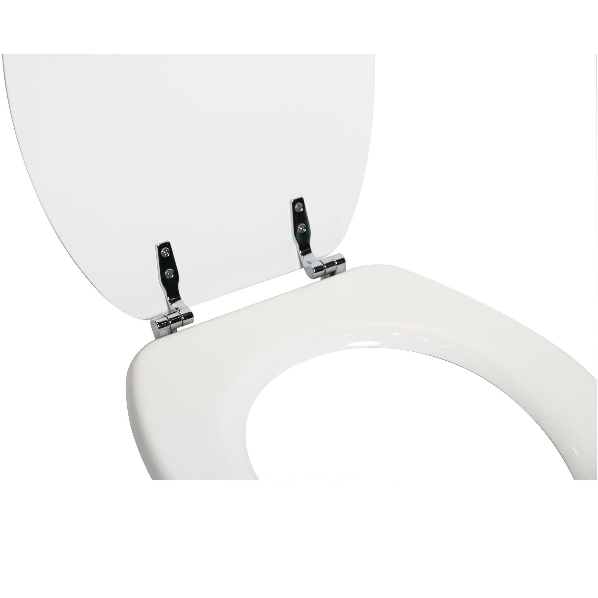 Copriwater ovale Universale Pop SENSEA mdf bianco - 7