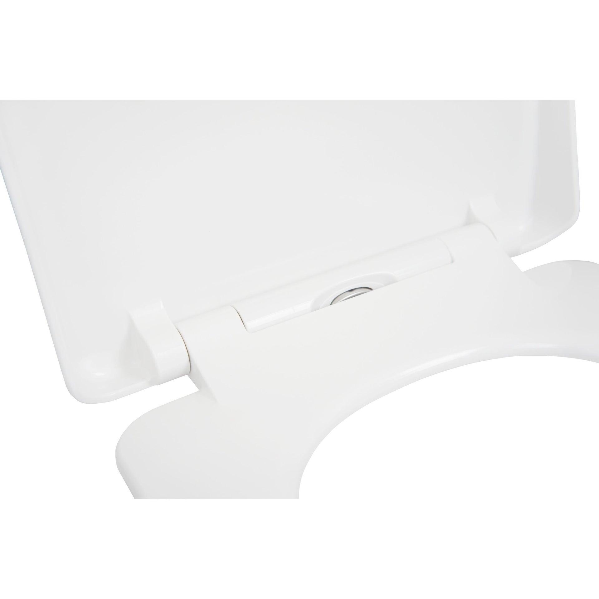 Copriwater rettangolare Universale Remix SENSEA duroplast bianco - 4