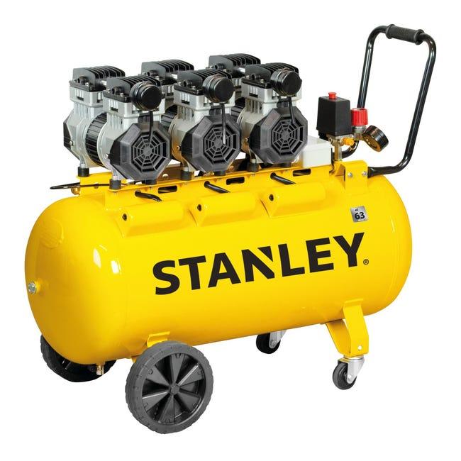 Compressore silenziato STANLEY SXCMS30103E, 3 hp, 8 bar, 100 L - 1