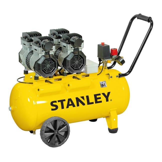 Compressore silenziato STANLEY SXCMS2652HE, 2.6 hp, 8 bar, 50 litri - 1