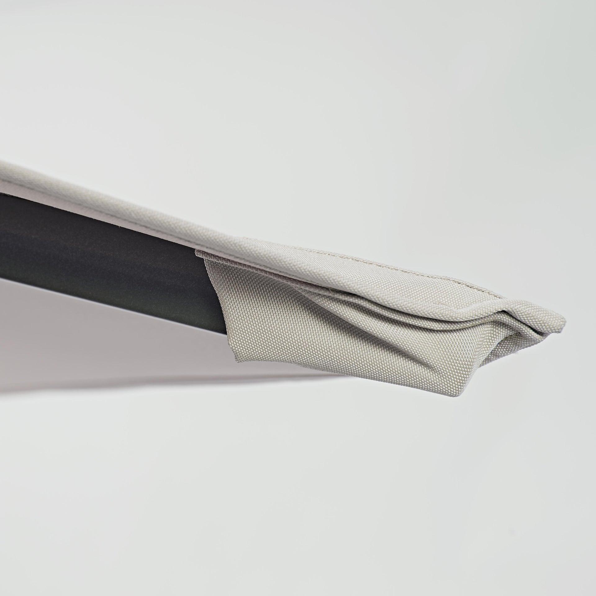 Ombrellone NATERIAL Aura L 2.81 x P 3.86 m color tortora - 11