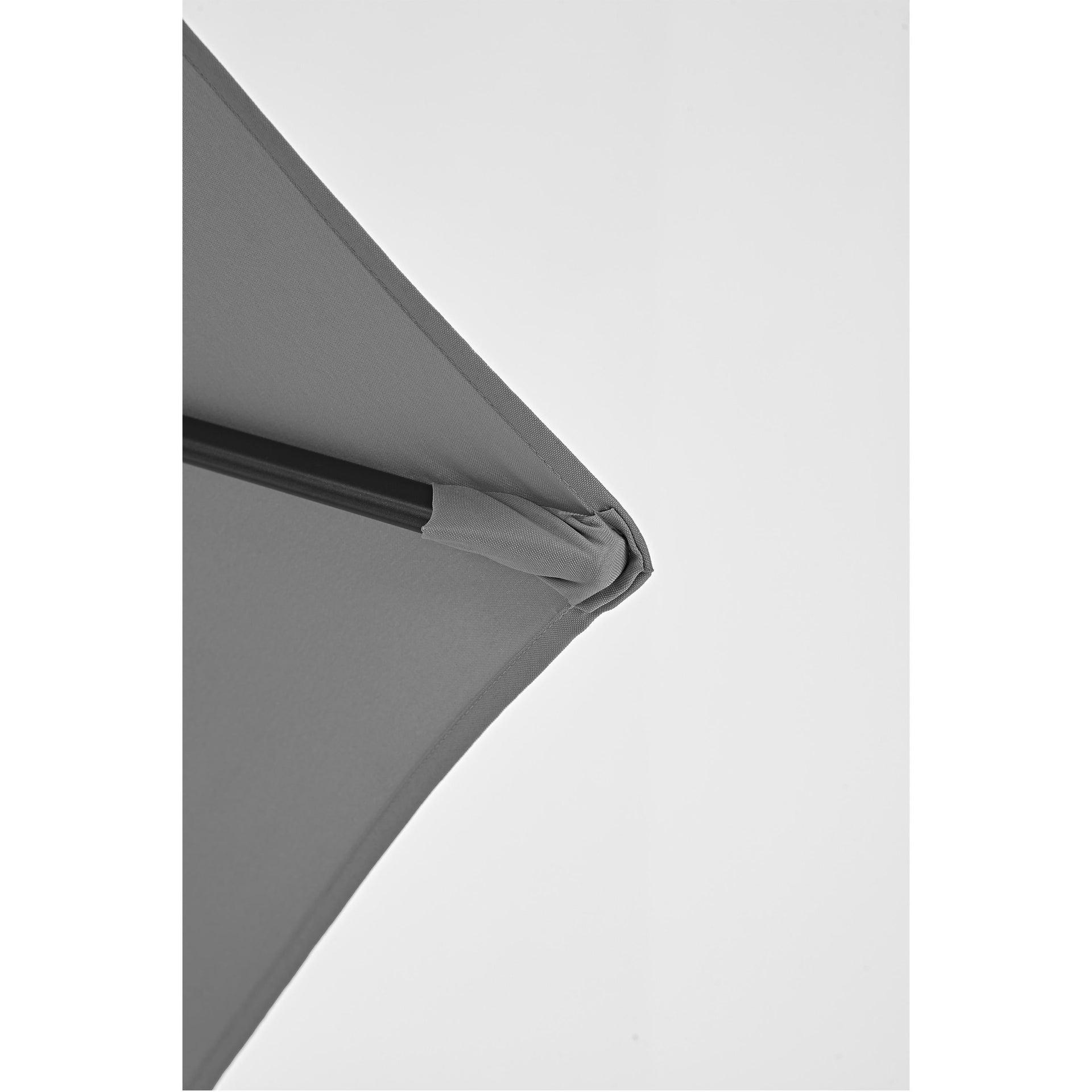 Ombrellone Polar L 2.62 x P 2.62 m color grigio - 3
