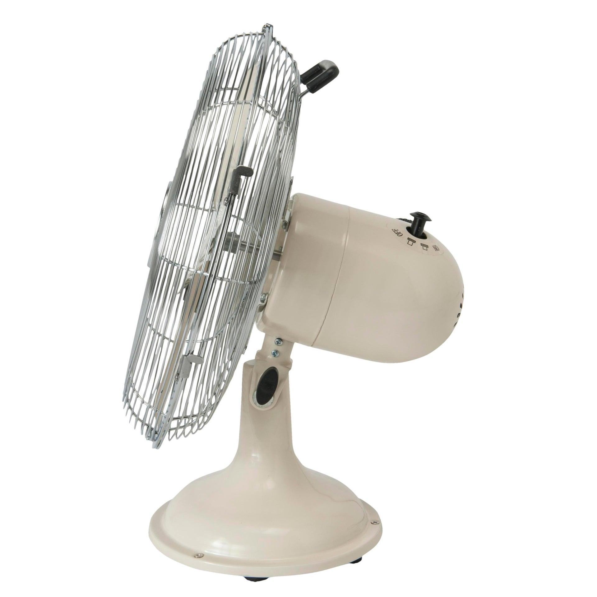 Ventilatore da tavolo EQUATION bianco 40 W Ø 30 cm - 2
