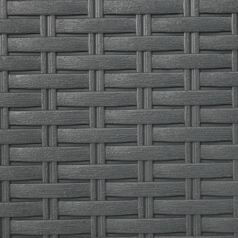 Pattumiera da bagno manuale SENSEA grigio 6 Lin polipropilene - 4