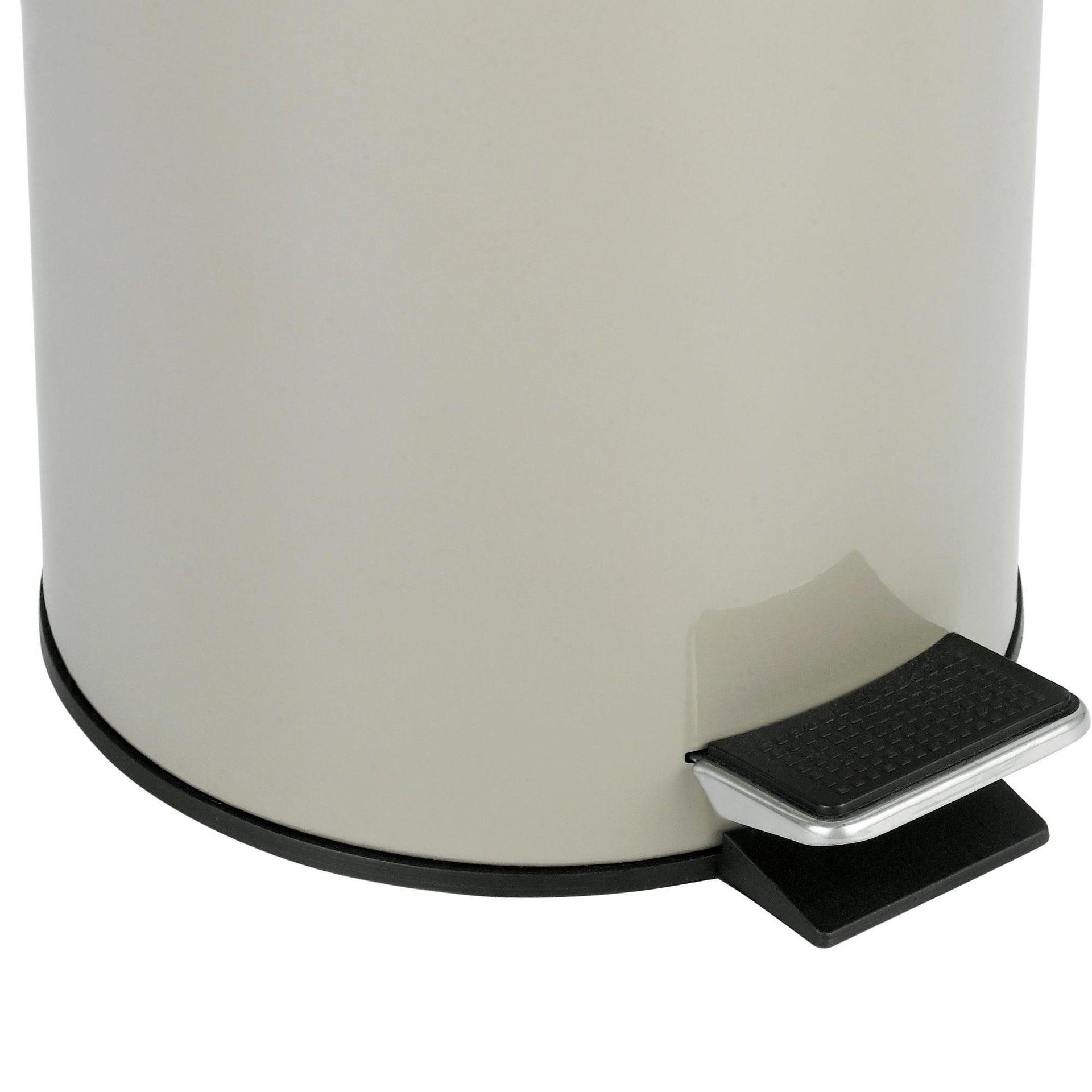 Pattumiera da bagno a pedale SENSEA 3 Lin acciaio - 3