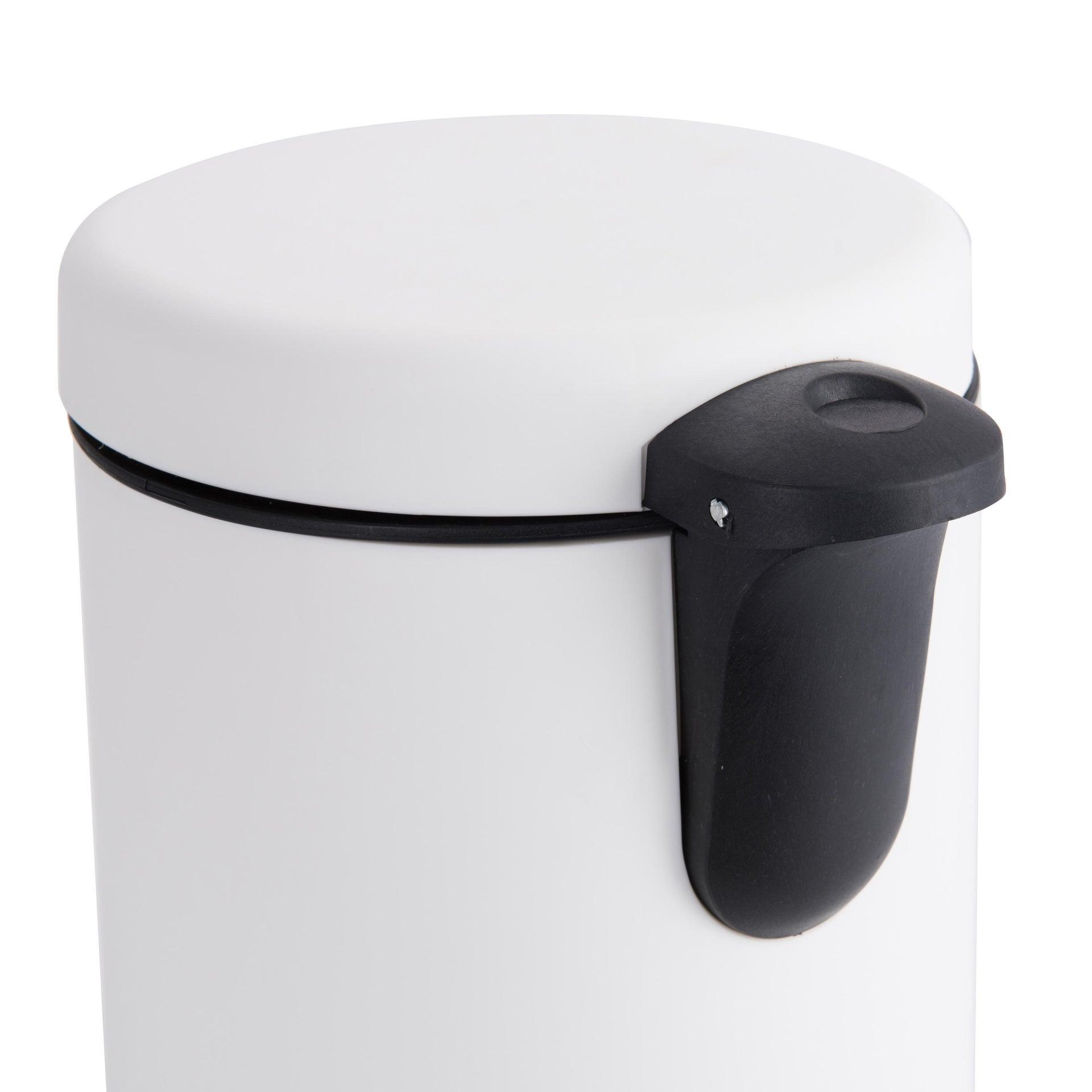 Pattumiera da bagno a pedale SENSEA 3 Lin plastica - 3