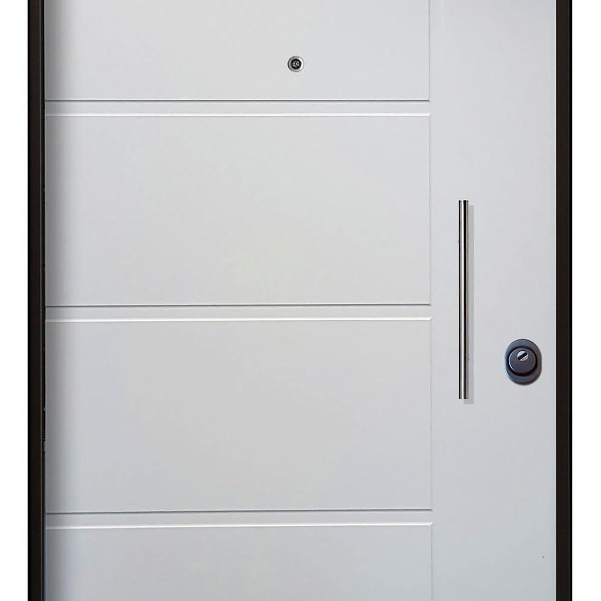 Porta blindata Sweet bianco L 80 x H 210 cm sinistra - 2