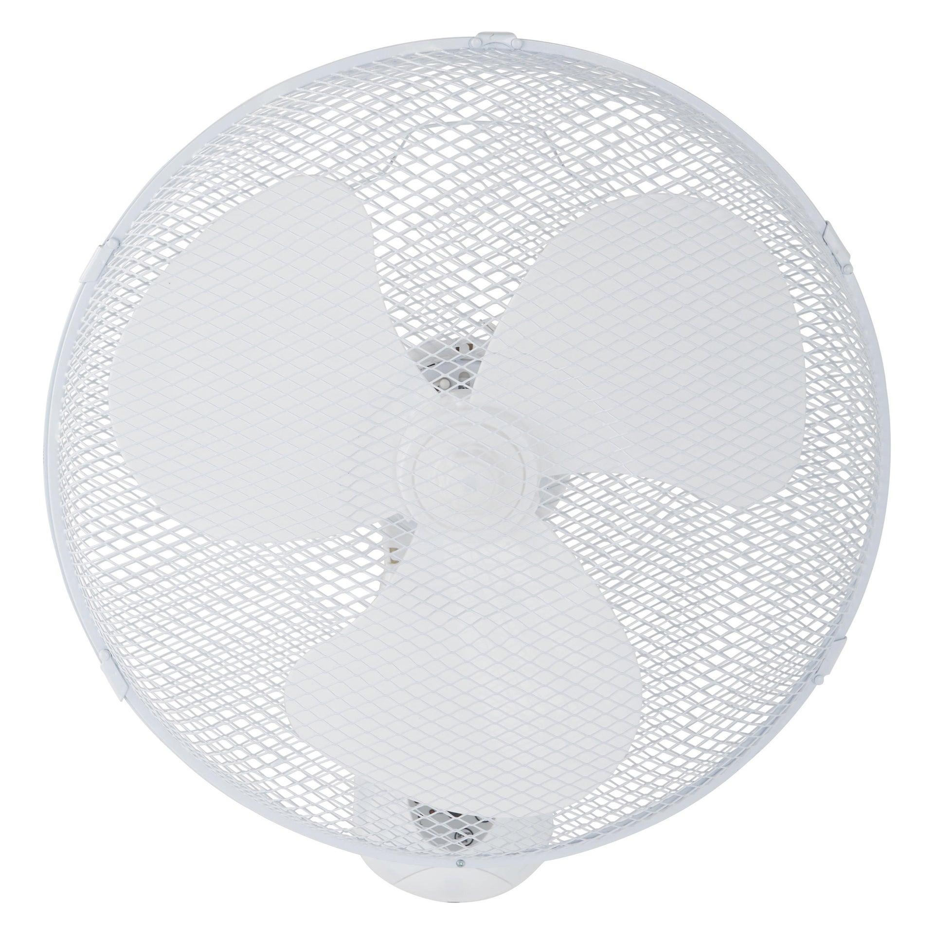 Ventilatore a parete EQUATION Derby bianco 45.0 W Ø 40.0 cm - 3