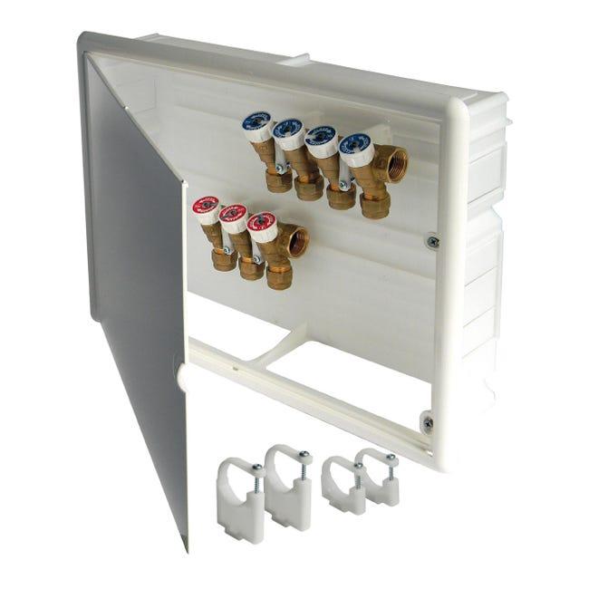 Cassetta collettore per riscaldamento a pavimento ad acqua - 1