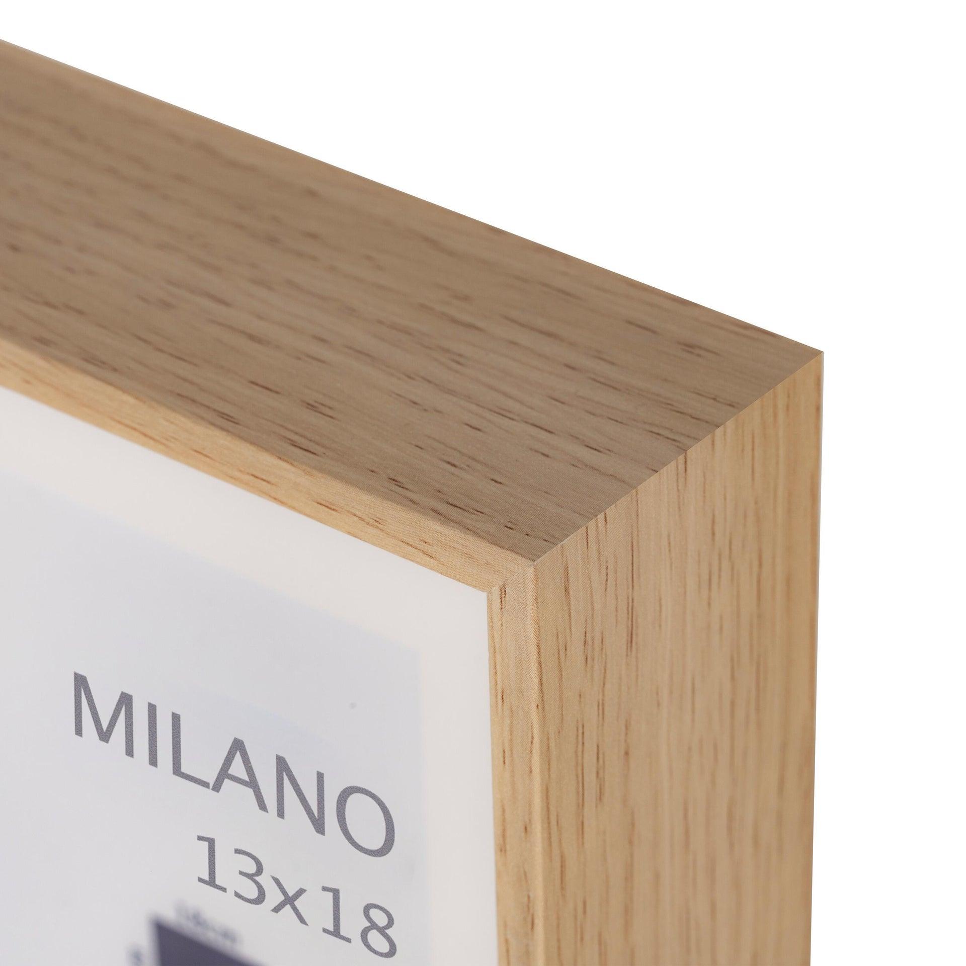 Cornice con passe-partout Inspire milano rovere 13x18 cm - 6