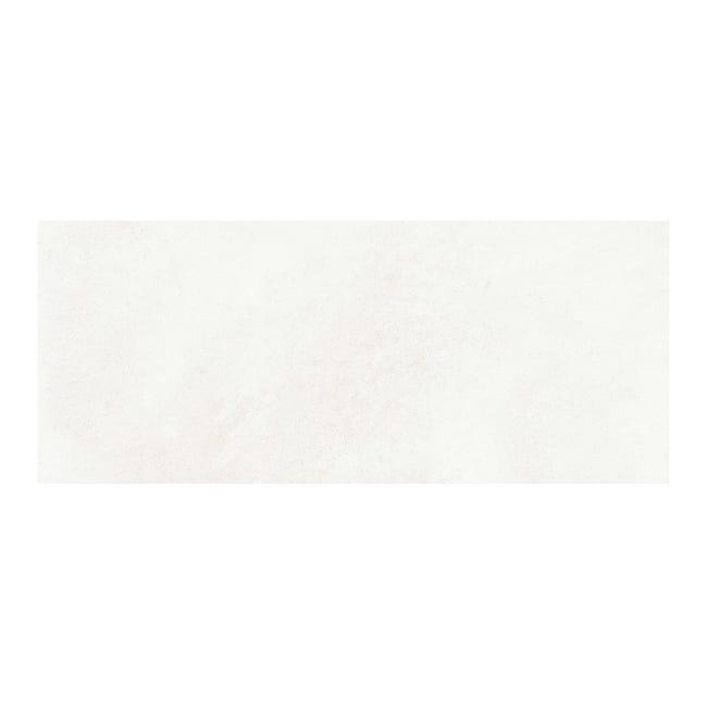 Piastrella per rivestimenti Concrete 25 x 60 cm sp. 8 mm bianco - 1