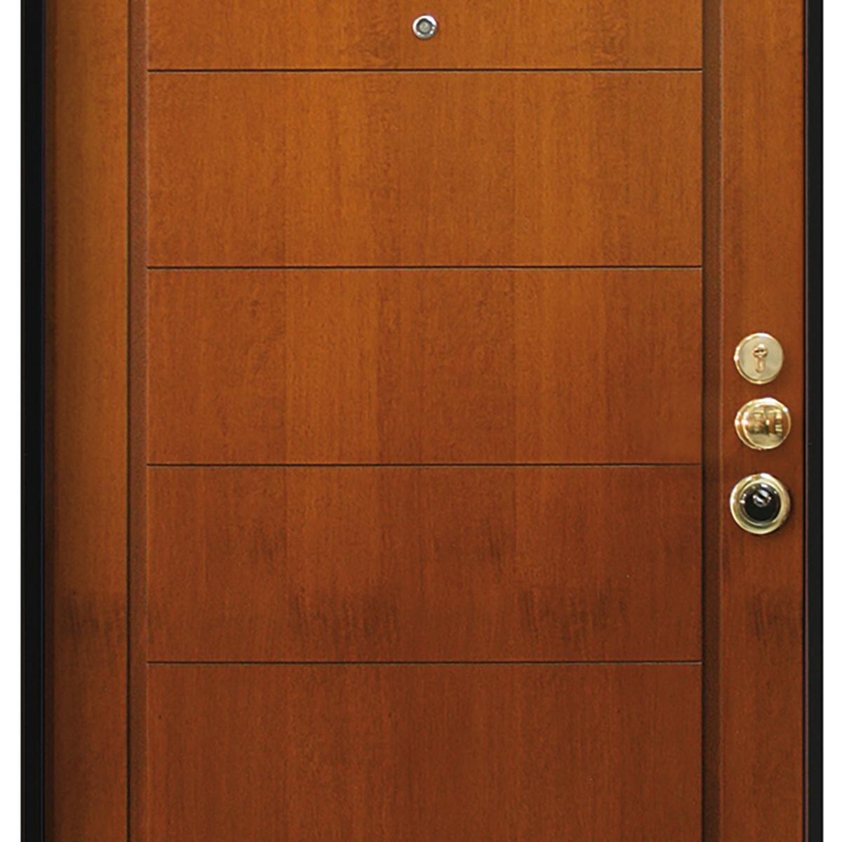 Porta blindata Best noce L 80 x H 210 cm sinistra - 2