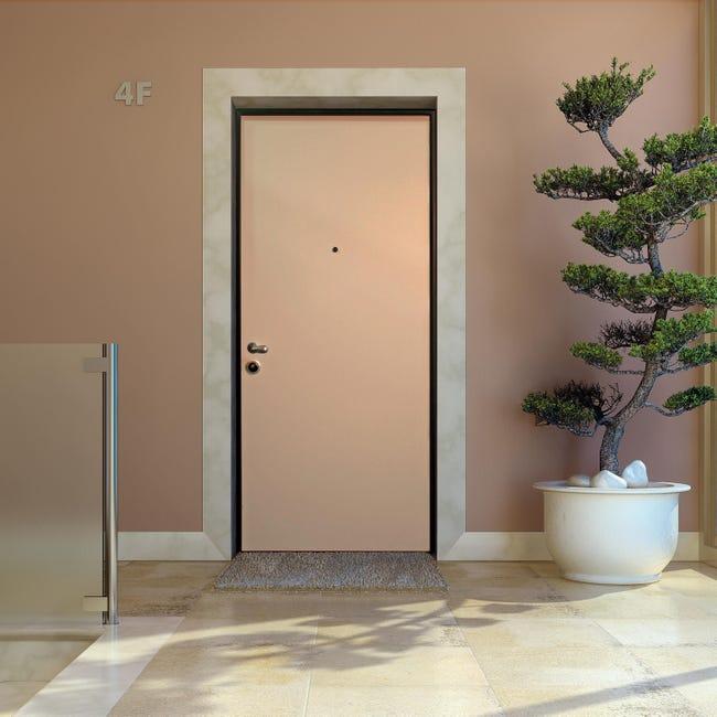 Porta blindata Confort bianco L 90 x H 210 cm destra - 1